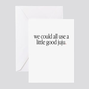 """A Little Good Ju Ju"" Greeting Cards (Pk of 10"
