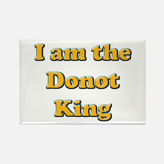 Donot King Rectangle Magnet