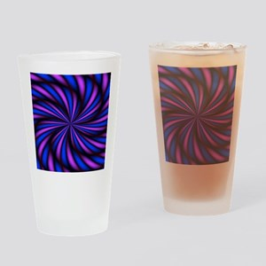 Psychedelic 16 Drinking Glass