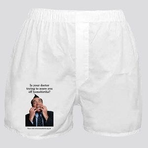 Scared of homebirths Boxer Shorts