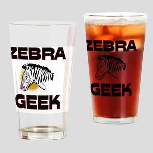 ZEBRA971 Drinking Glass