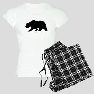 Black California Bear pajamas