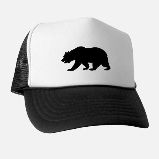 Black California Bear Hat