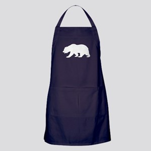 White California Bear Apron (dark)