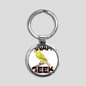 CANARY92187 Round Keychain