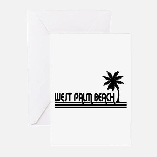 West Palm Beach, Florida Greeting Cards (Package o