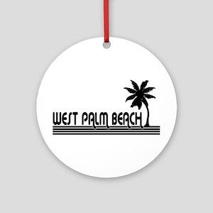 West Palm Beach, Florida Ornament (Round)