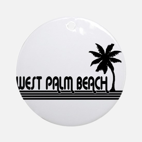 West Palm Beach, Florida Ornament (Round)