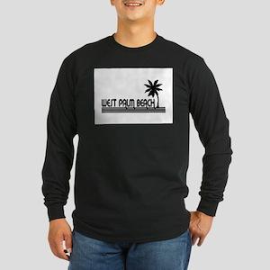 West Palm Beach, Florida Long Sleeve Dark T-Shirt