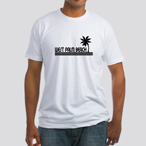 West Palm Beach, Florida Fitted T-Shirt