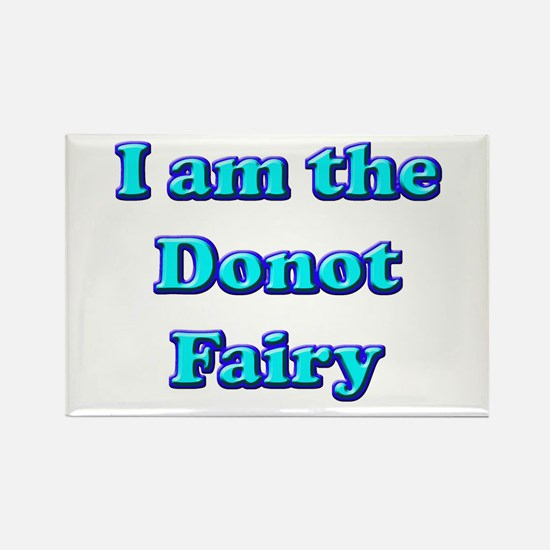 Donot Fairy Rectangle Magnet