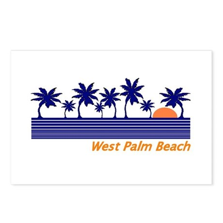 West Palm Beach, Florida Postcards (Package of 8)