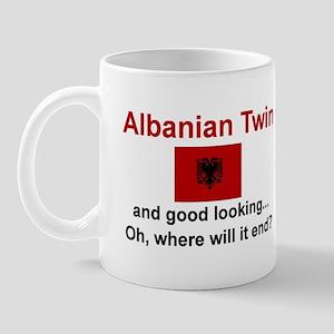 Good Looking Albanian Twin Mug