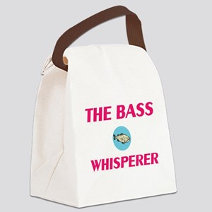 The Bass Whisperer Canvas Lunch Bag