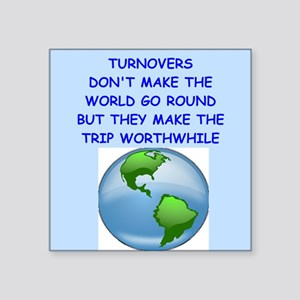 turnovers Sticker