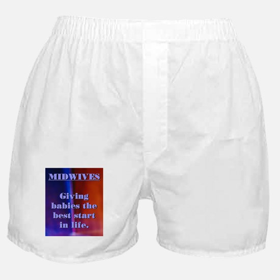 Midwives - best start for babies Boxer Shorts