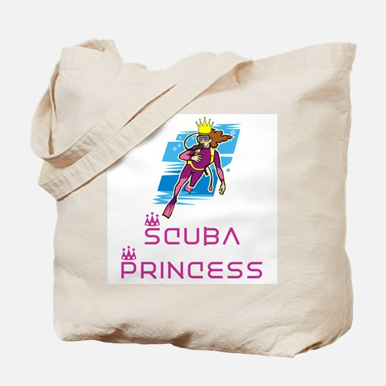 ScubaPrincess Tote Bag