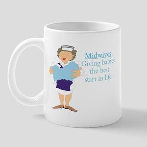 Midwife gift Mug
