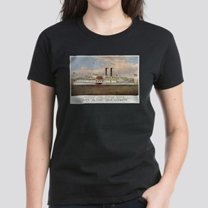 People's line Hudson River - 1877 T-Shirt