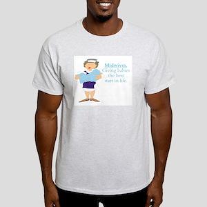 Midwife gift Light T-Shirt