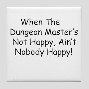Dungeon Master RPG Tile Coaster