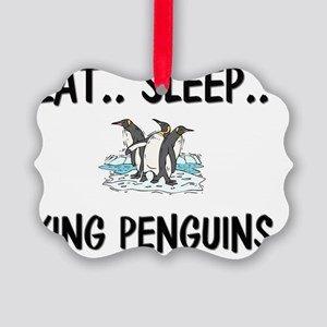 KING-PENGUINS8733 Picture Ornament