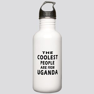 The Coolest Uganda Design Stainless Water Bottle 1