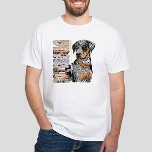 Catahoula White T-Shirt
