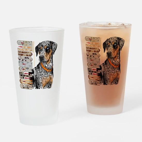 Catahoula Drinking Glass