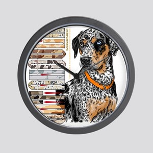 Catahoula Wall Clock