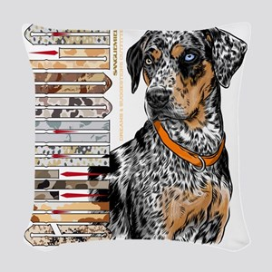 Catahoula Woven Throw Pillow