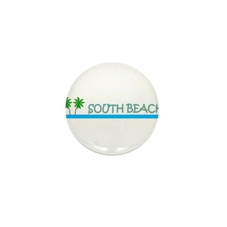 South Beach, Florida Mini Button (10 pack)