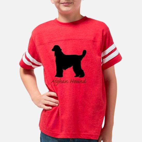 Afghan-Hound Youth Football Shirt