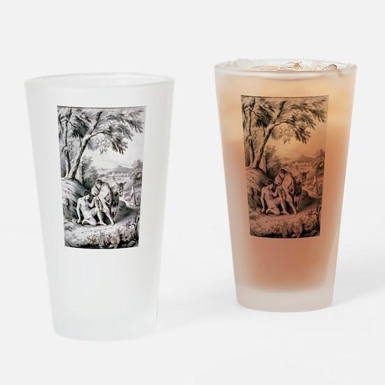 The good samaritan - 1849 Drinking Glass