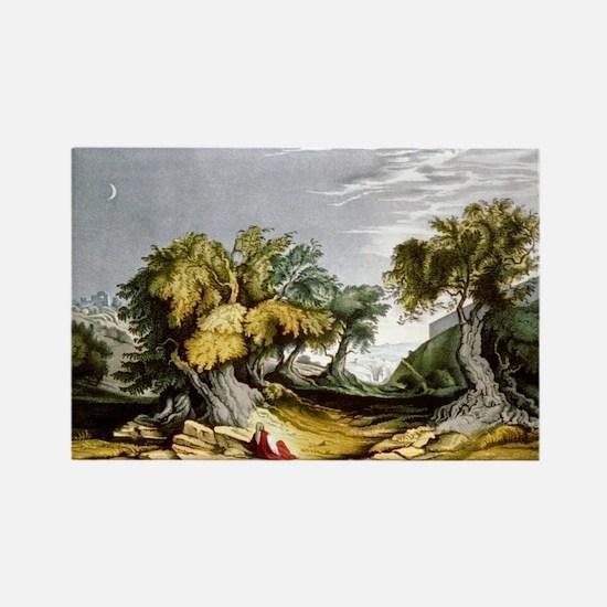 The garden of Gethsemane - 1846 Magnets