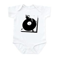Retro Turntable Infant Bodysuit