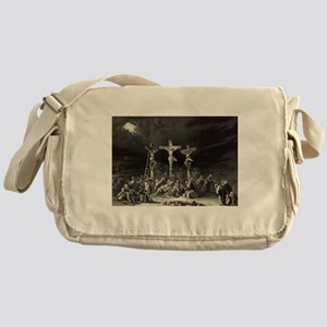 The Crucifixion - 1849 Messenger Bag