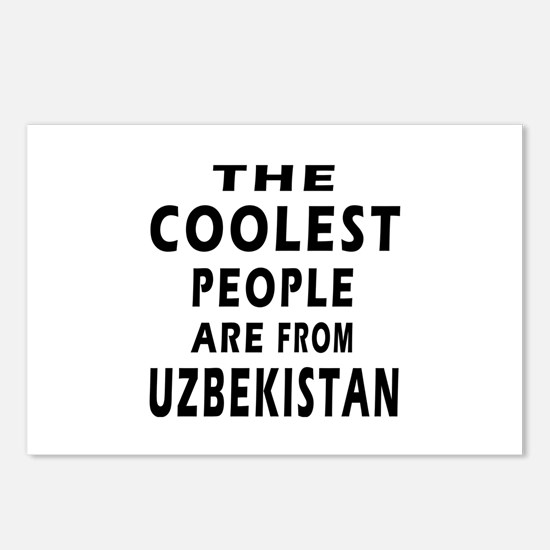 The Coolest Uzbekistan Design Postcards (Package o