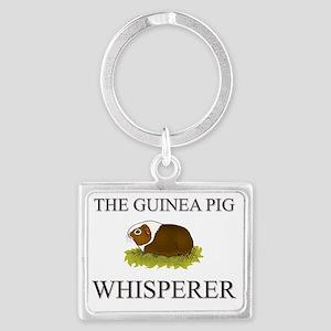 GUINEA-PIG13243 Landscape Keychain