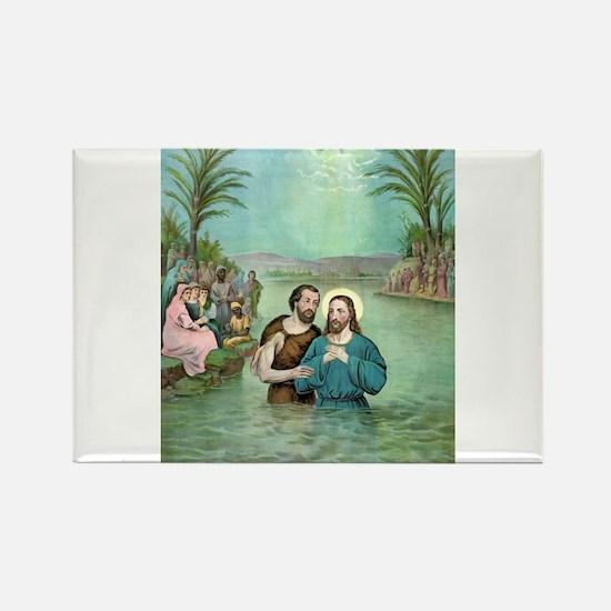 The Baptism of Jesus Christ - 1893 Magnets
