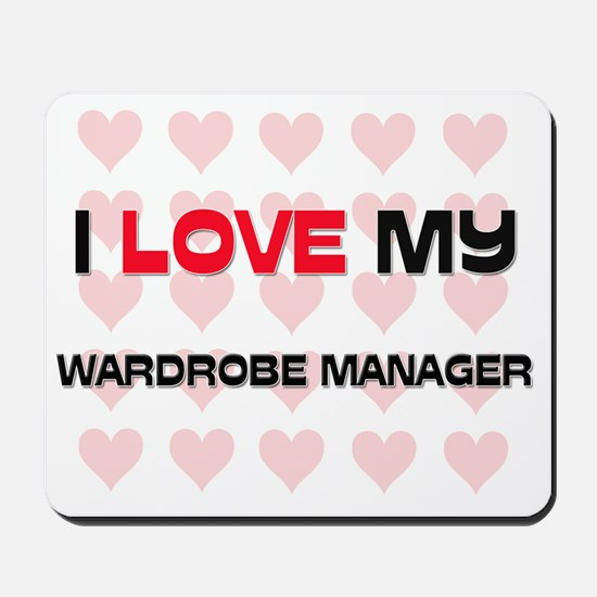 WARDROBE-MANAGER65 Mousepad