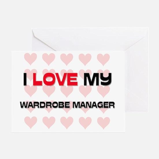 WARDROBE-MANAGER65 Greeting Card