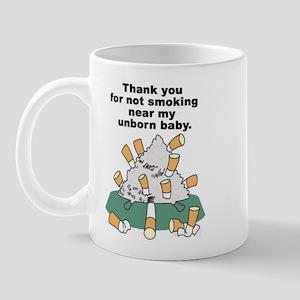 Smoke - unborn baby Mug