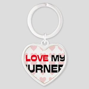 TURNER89 Heart Keychain