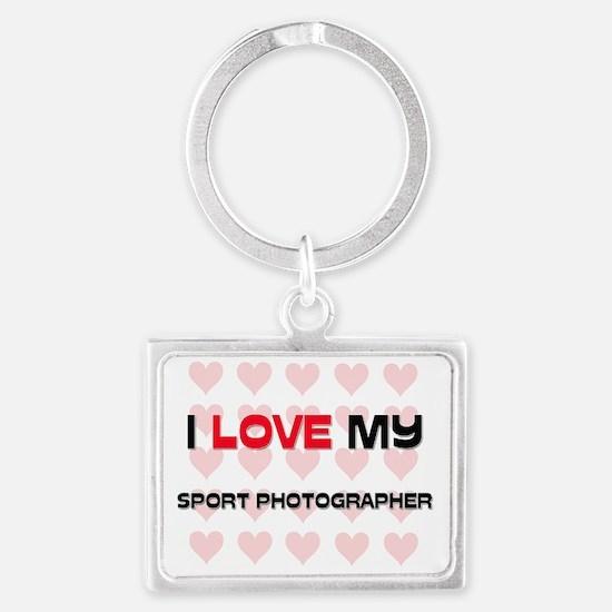 SPORT-PHOTOGRAPHER54 Landscape Keychain