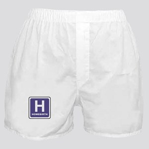 'H' for homebirth Boxer Shorts