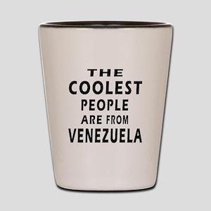 The Coolest Venezuela Design Shot Glass