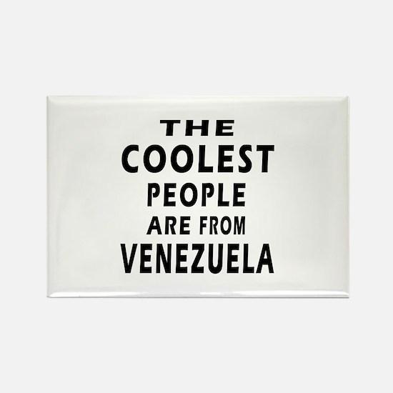 The Coolest Venezuela Design Rectangle Magnet