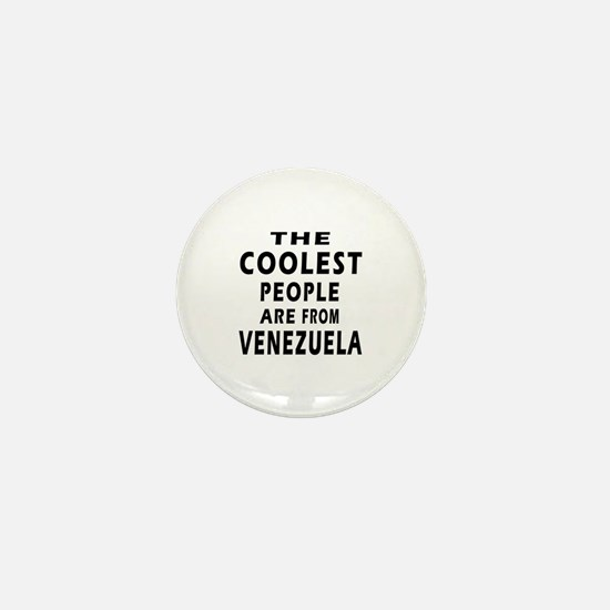 The Coolest Venezuela Design Mini Button