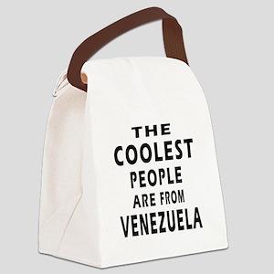 The Coolest Venezuela Design Canvas Lunch Bag